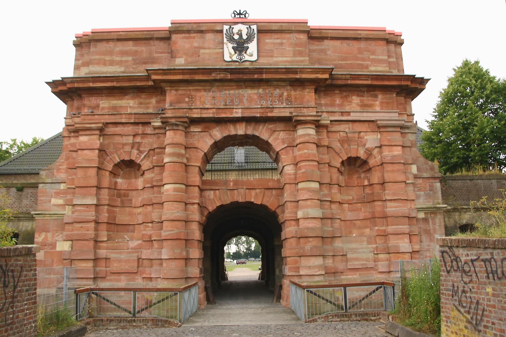 Zitadelle von hinten in Wesel