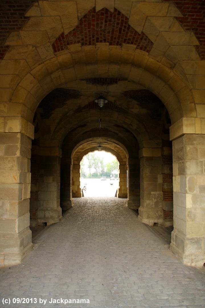 Zitadellendurchgang in Wesel