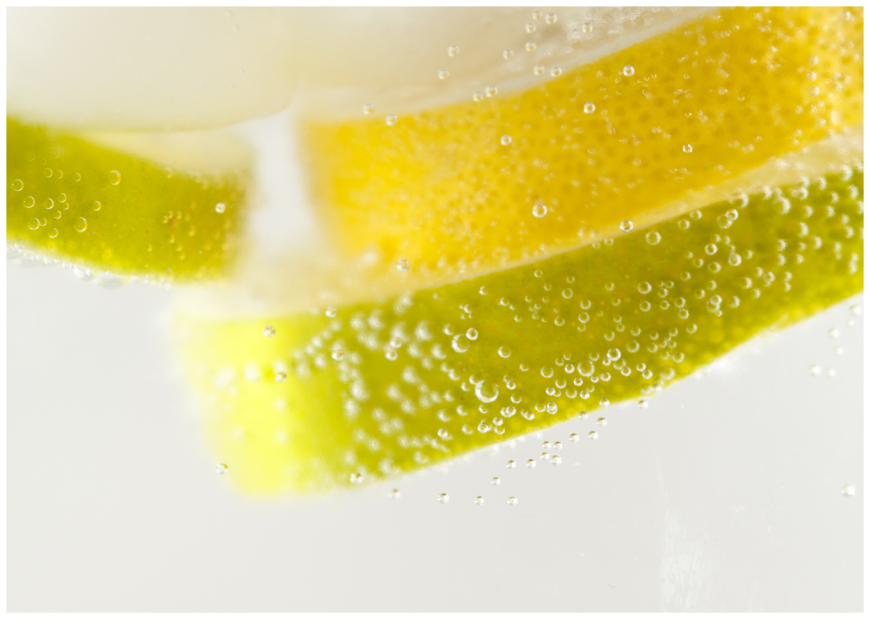 Zitrone und Limetten