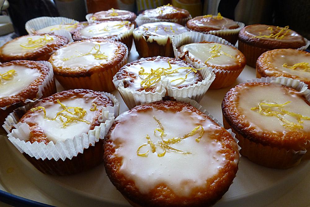 Zitronen-Joghurt-Muffin