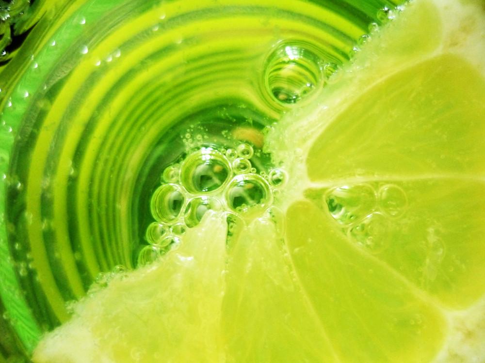 Zitronen-Kreise