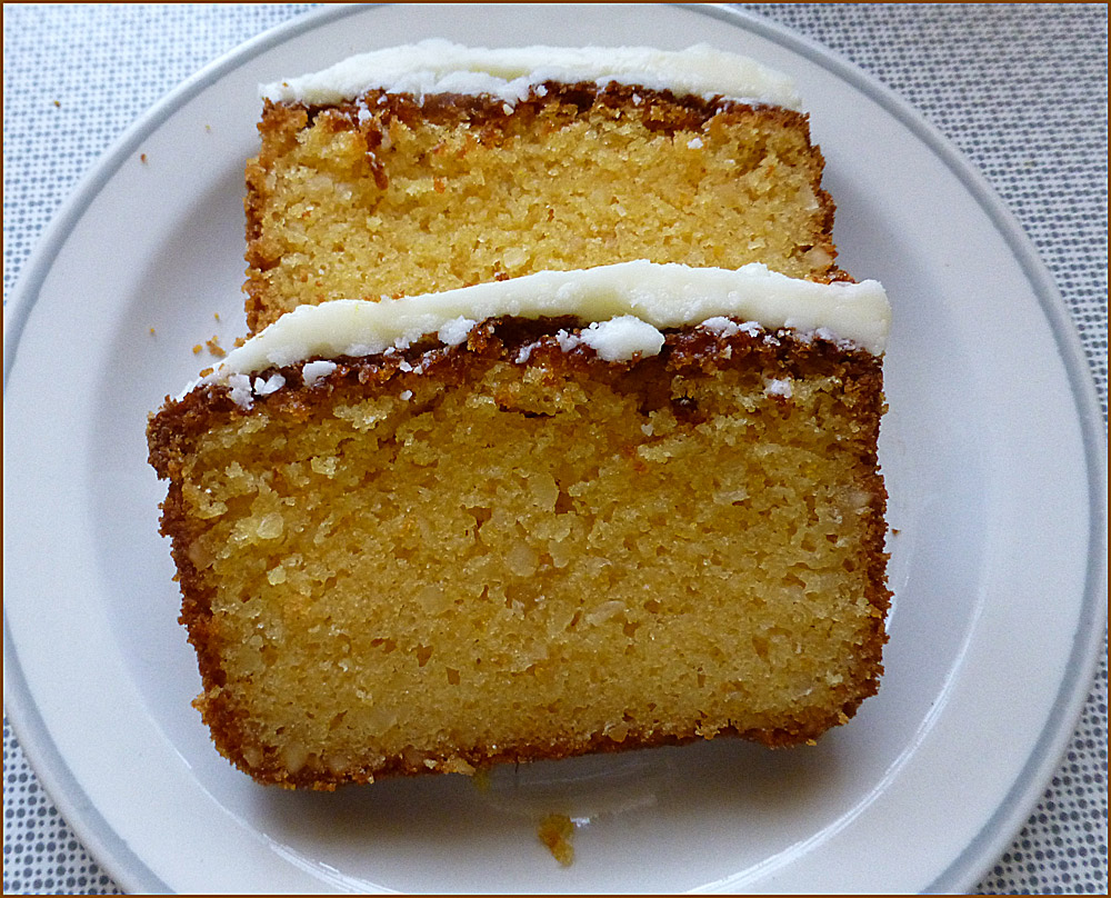Zitronen-Orangen-Kuchen