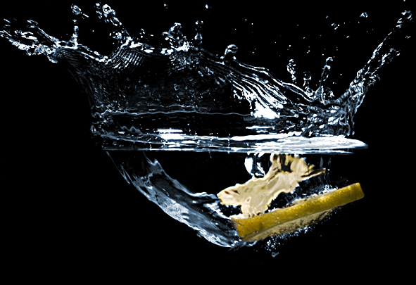 Zitronensplash