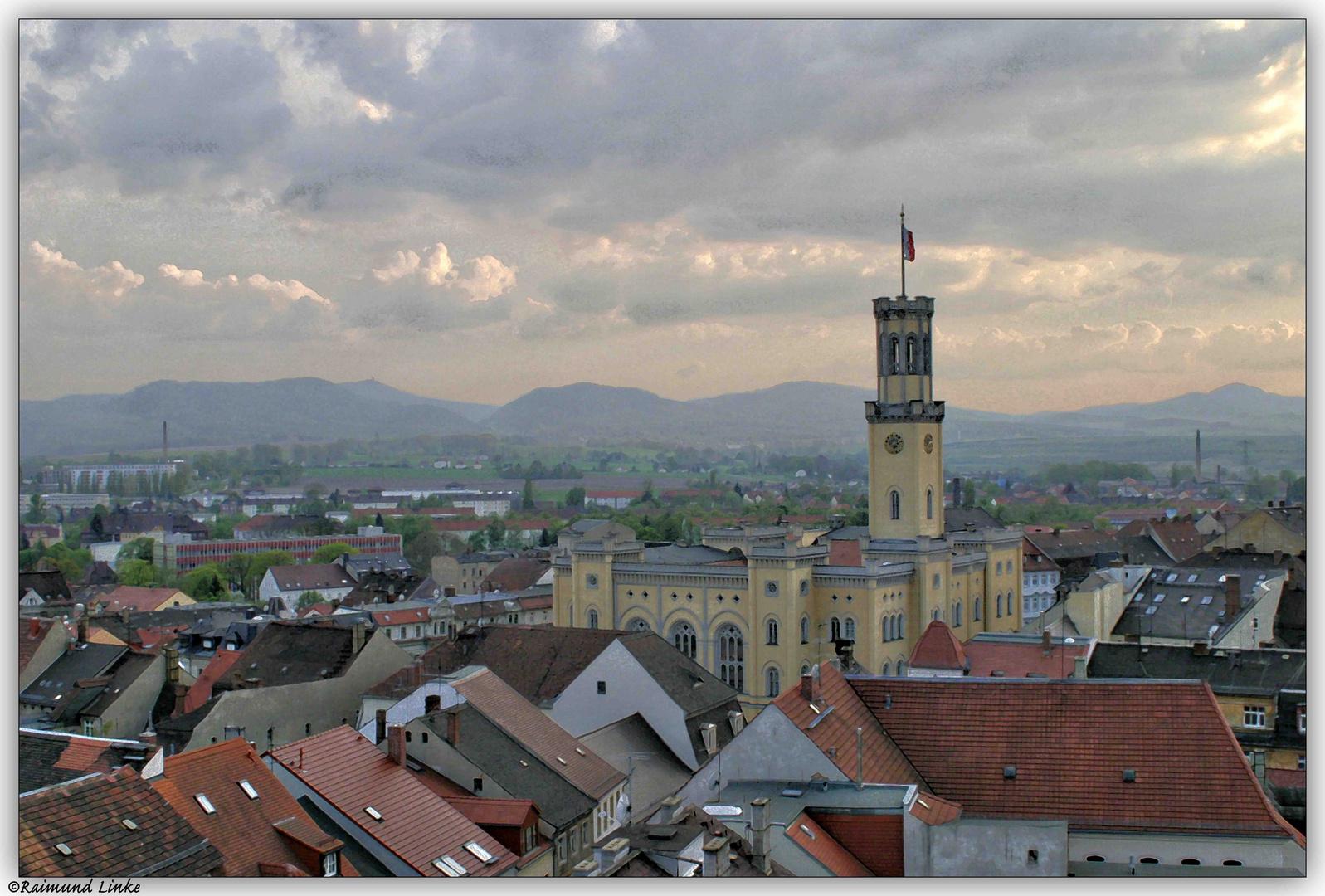 Zittau mit Zittauer-Gebirge
