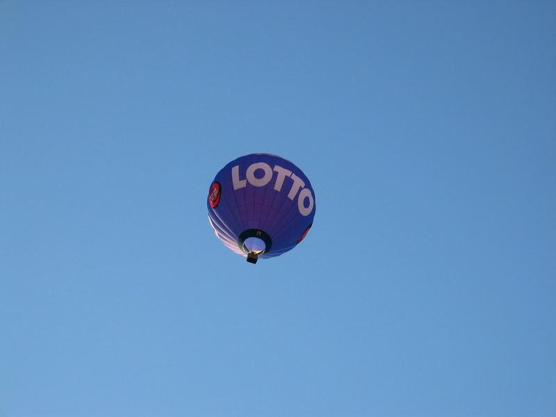 Zocker fahren in den Lottohimmel - Keine Wolke trübt das Glück