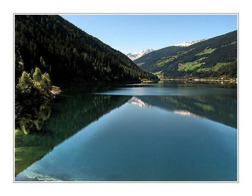 Zoggler Stausee im Ultental Südtirol