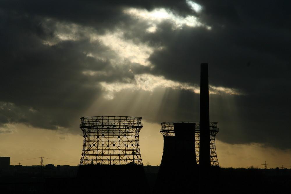 Zollverein bei Dämmerung von Kölnstern