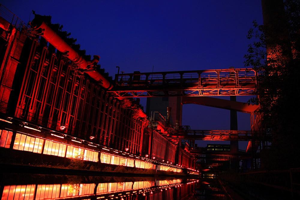 Zollverein bei Nacht 2