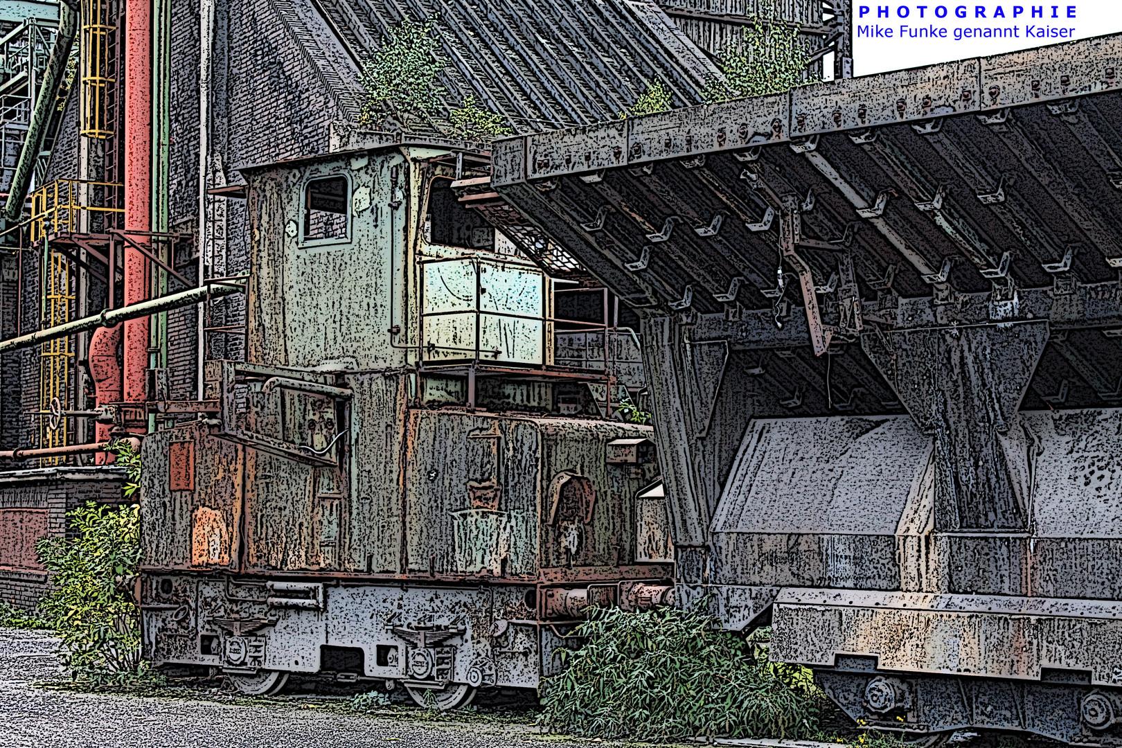 Zollverein - Cartoon Art