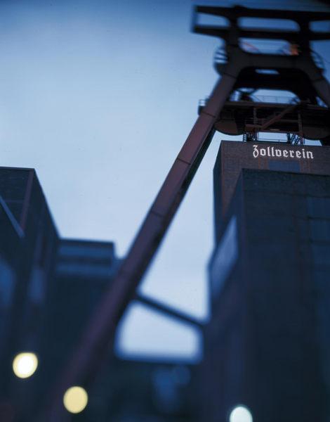 Zollverein früh morgens