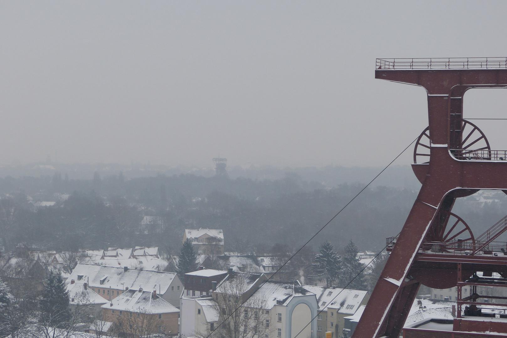 Zollverein im schnee