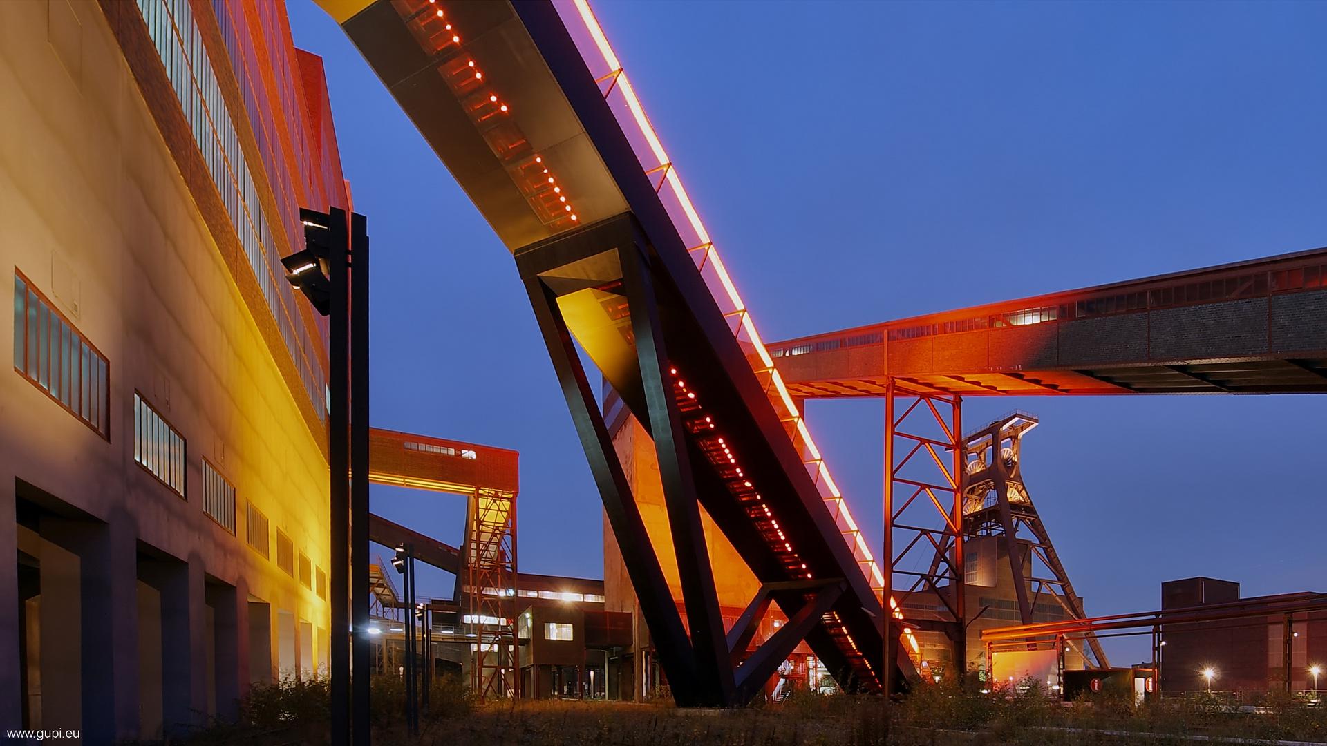 Zollverein in Rot