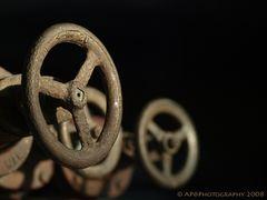 Zollverein: Steuerräder
