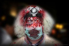 Zombie, belichtet