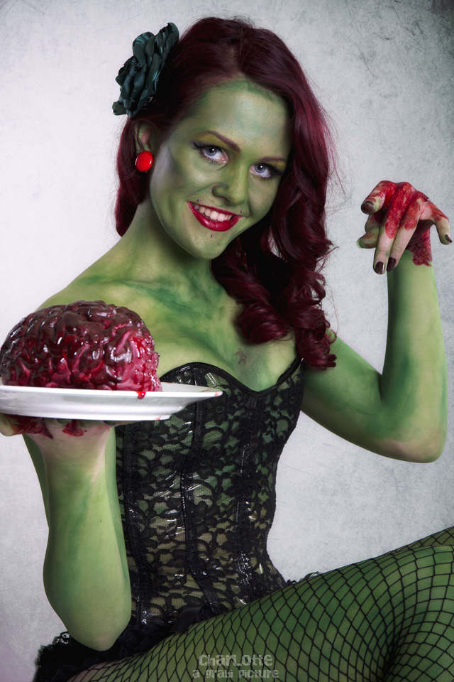 > zombie pin-up