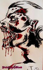 zombie von mir gemalt