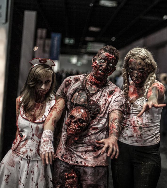 Zombie zu Besuch