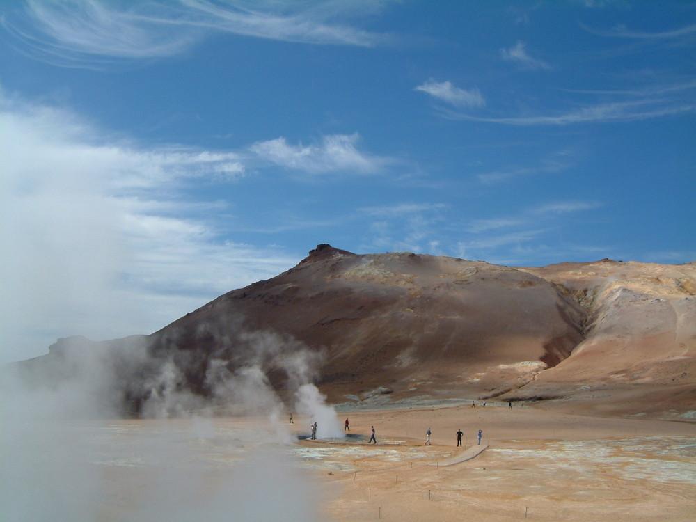 Zona Geotermale Lago Myvtan Iceland