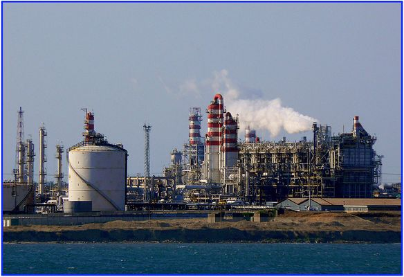 Zona industriale di Brindisi