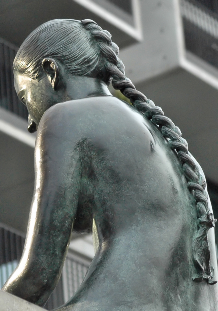 Zopf in Bronze