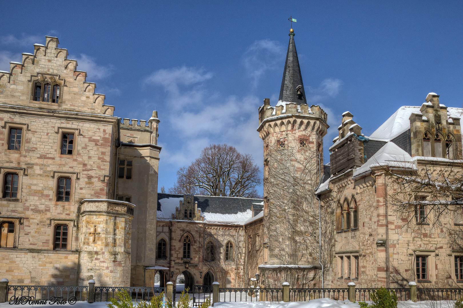 Zu Besuch im Märchenschloss...
