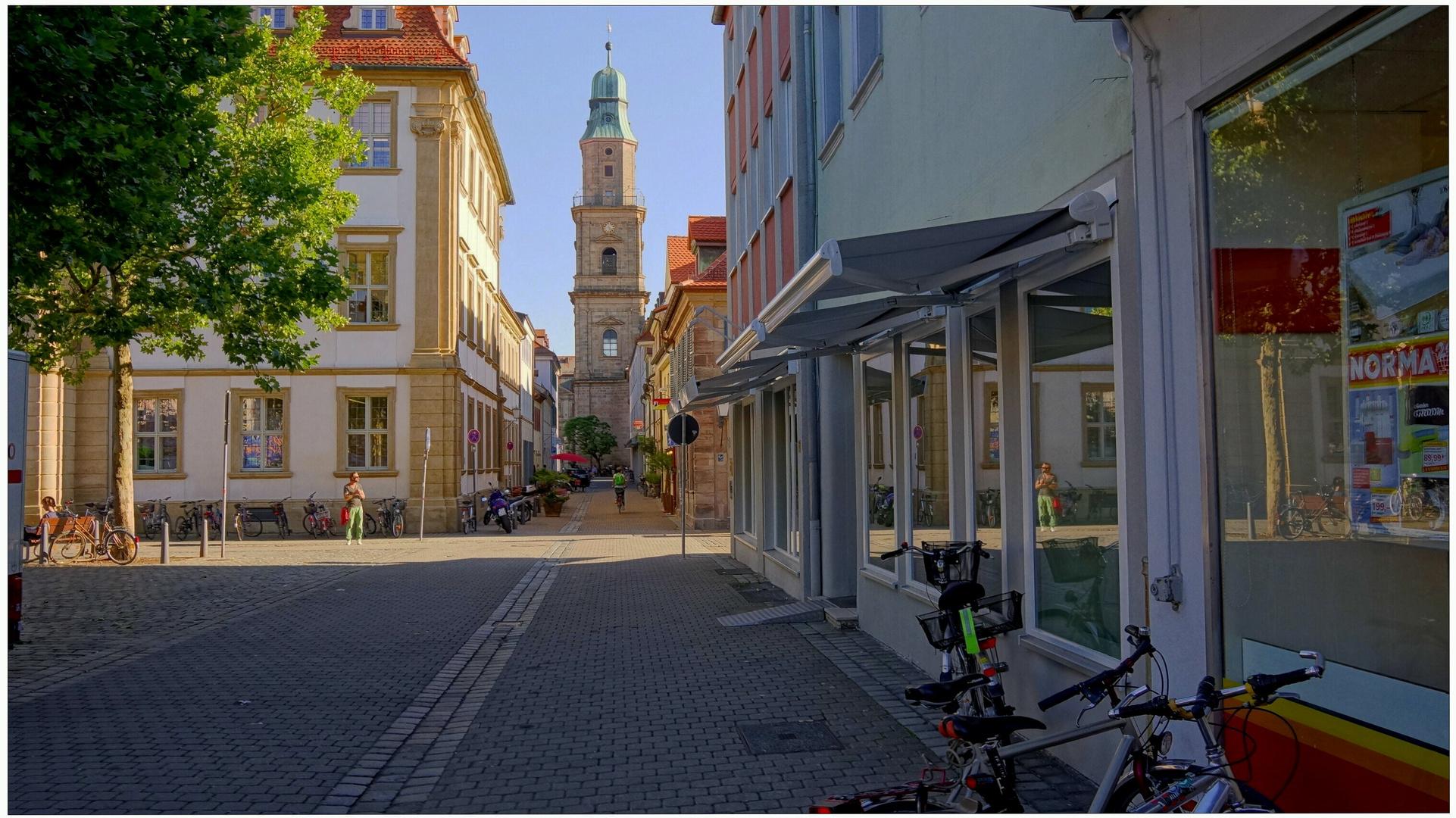 Zu Besuch in Erlangen bei meiner Tochter II (de visita en Erlangen a mi hija II)