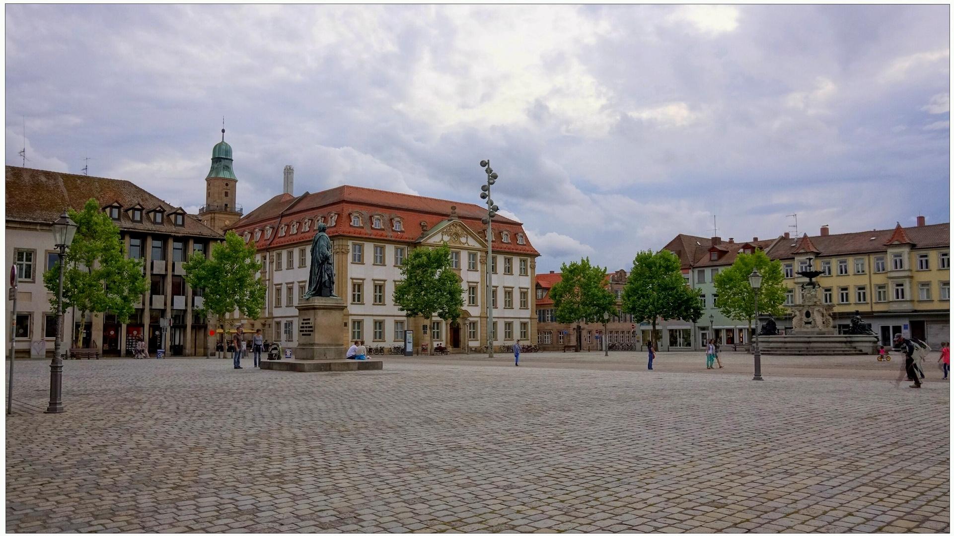 Zu Besuch in Erlangen bei meiner Tochter III (de visita en Erlangen a mi hija III)