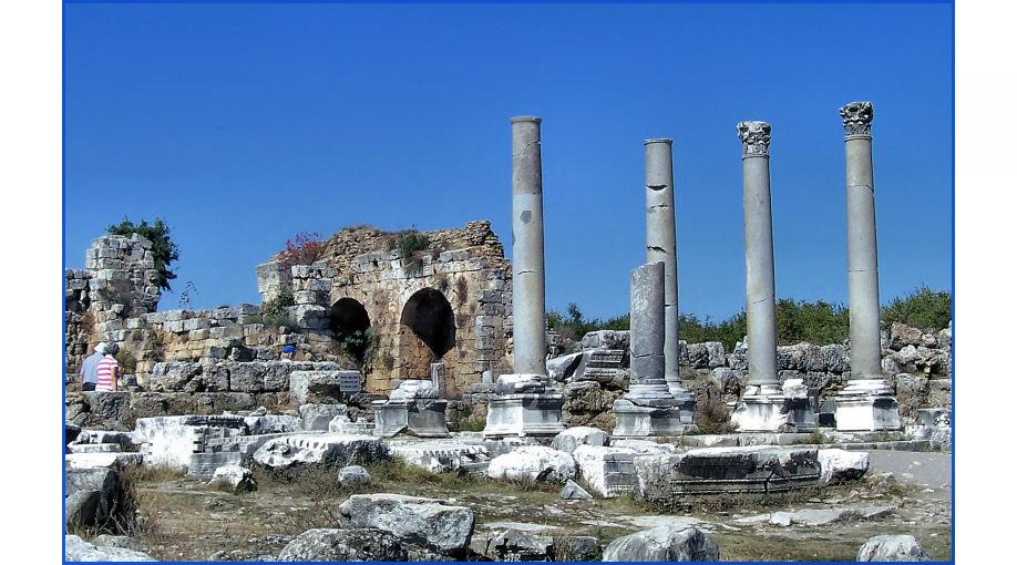 zu den Spuren der Antike