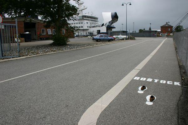zu Fuß nach Rostock