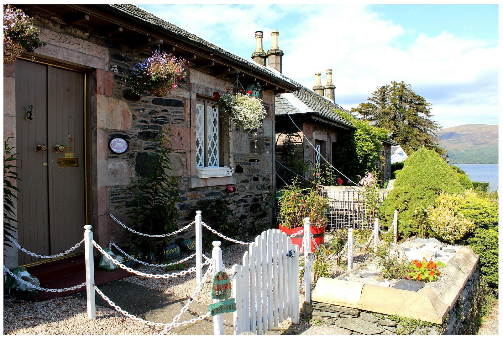 Zu Hause am Loch Lomond/Schottland