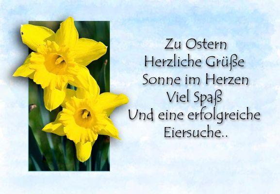 Zu Ostern....