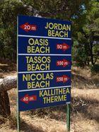 Zu welchen Strand nur?