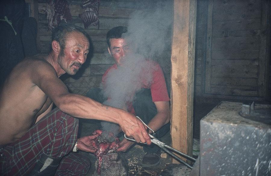 Zubereitung von Murmeltierfleisch