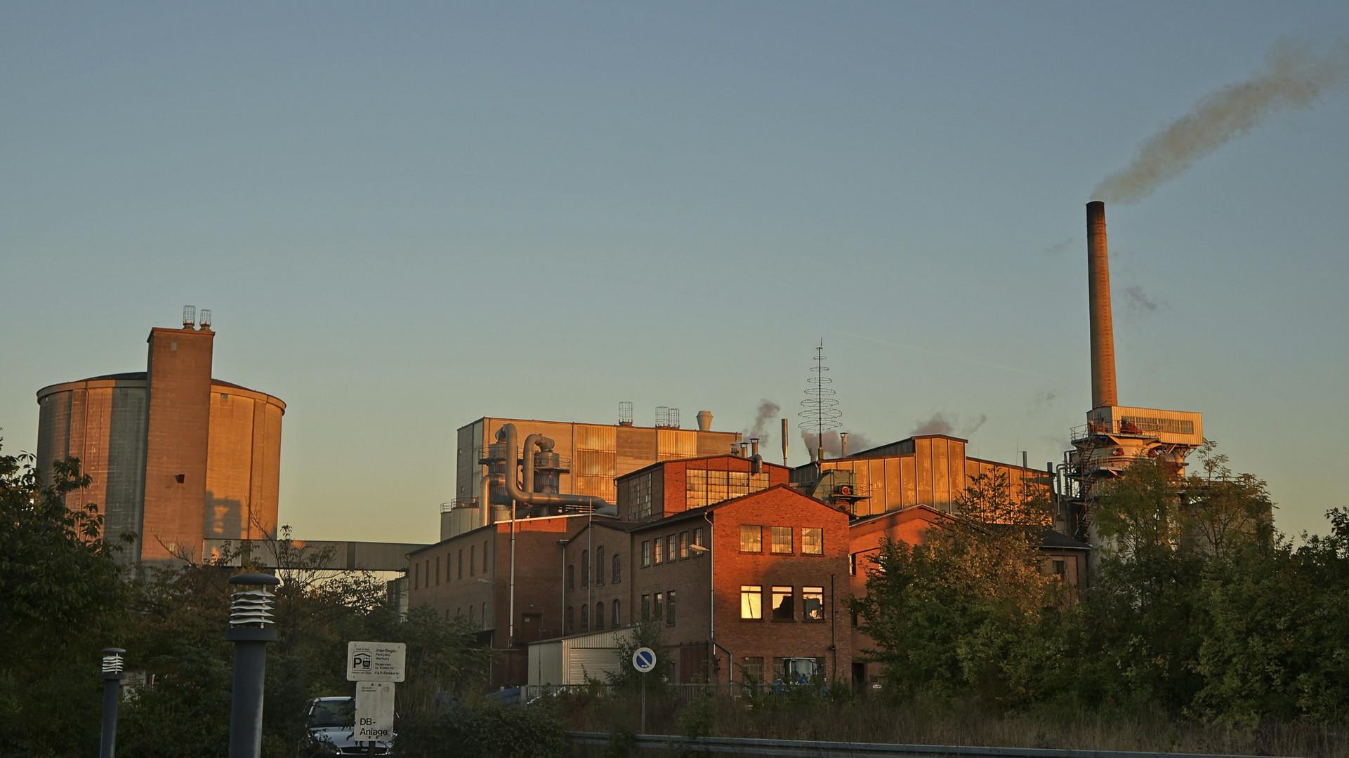 Zuckerfabrik in Warburg