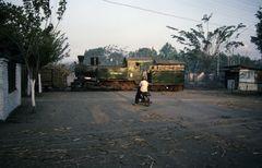Zuckerfabrik PG Pagottan, Madiun (Java , Indonesien), August 1992