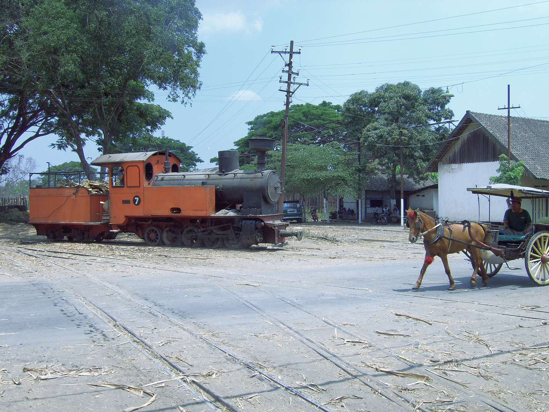 Zuckerfabrik PG Pagottan, Madiun (Java, Indonesien), September 2006