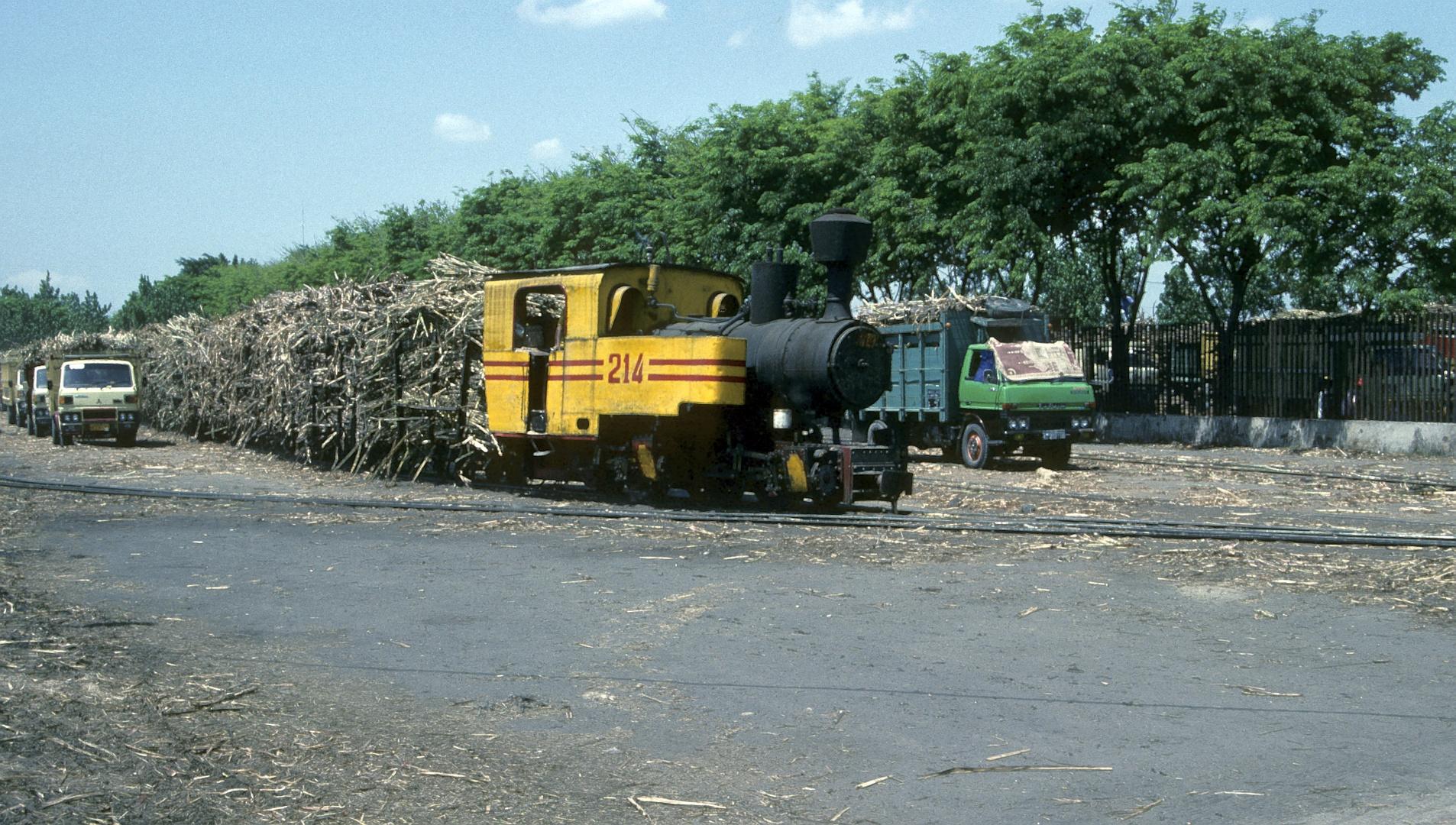 Zuckerfabrik PG Pesantren Baru , Kediri (Java, Indonesien), August 1992