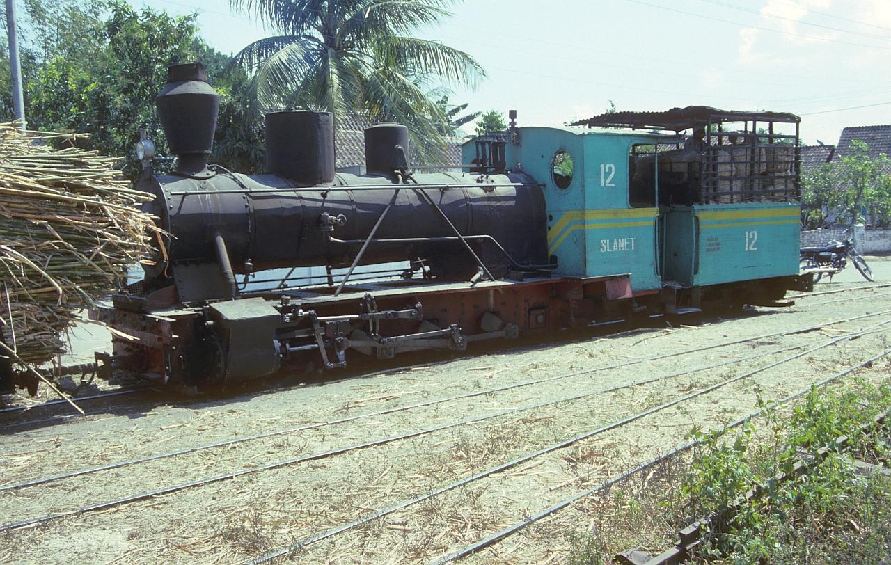 Zuckerfabrik PG Rejosari, Madiun (Java, Indonesien), August 1992