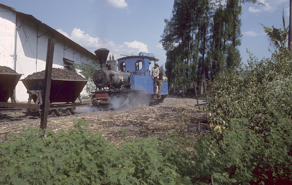 Zuckerfabrik PG Sudhono, Ngawi (Java, Indonesien), August 1992