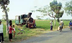 Zuckerfabrik PG Sumberharjo, Pemalang (Java, Indonesien), Juni 2003