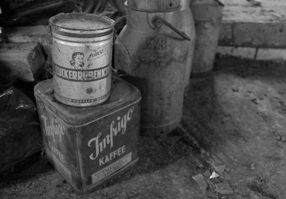 Zuckerrübenkraut und Kaffee.
