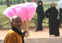 ZUCKERWATTE Verkäufer Indien