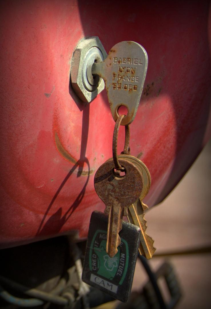 Zündschlüssel für den Traktor
