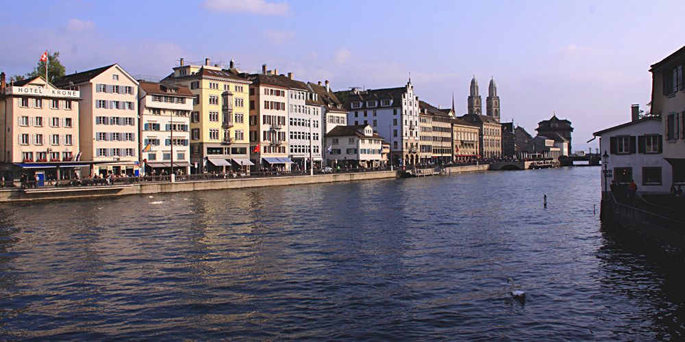 Zürich am Samstag nachmittag ...