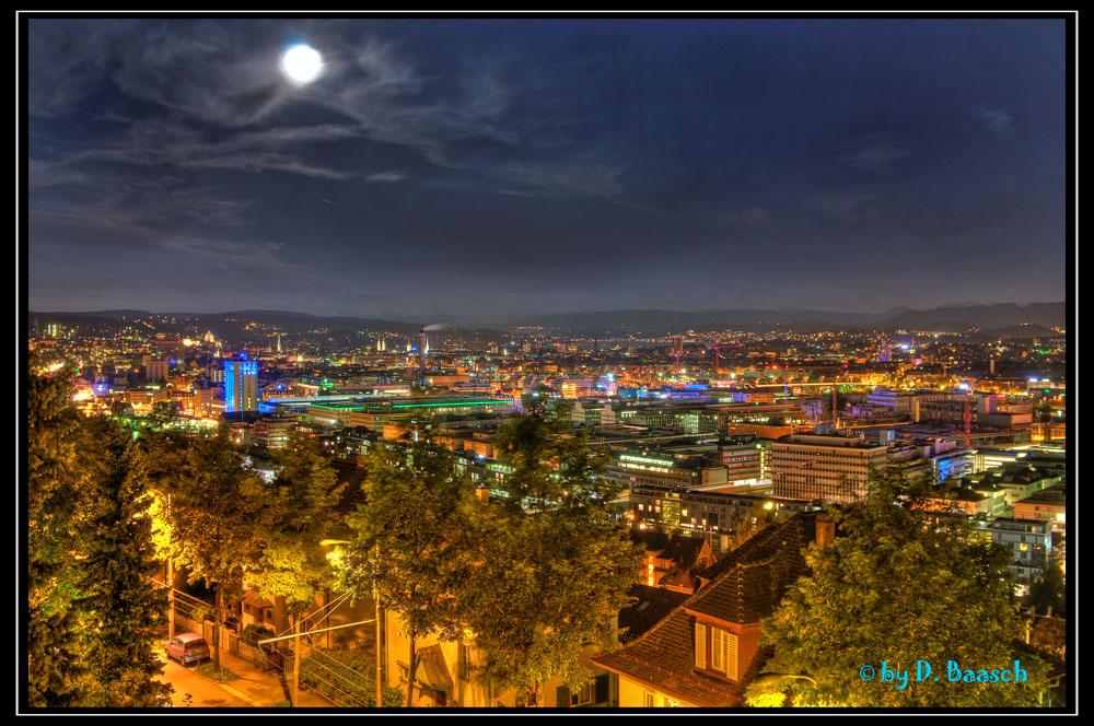 Zürich bei Nacht