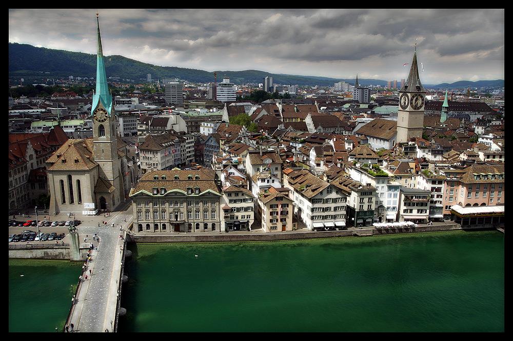 Zürich - Blick vom Grossmünster