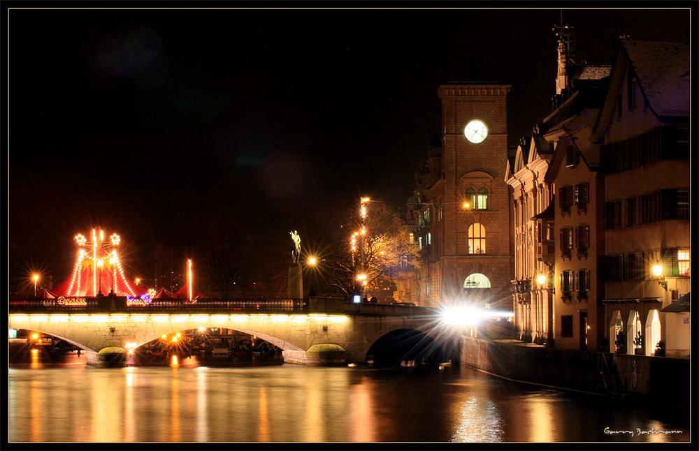 Zürich by Night @ Winter