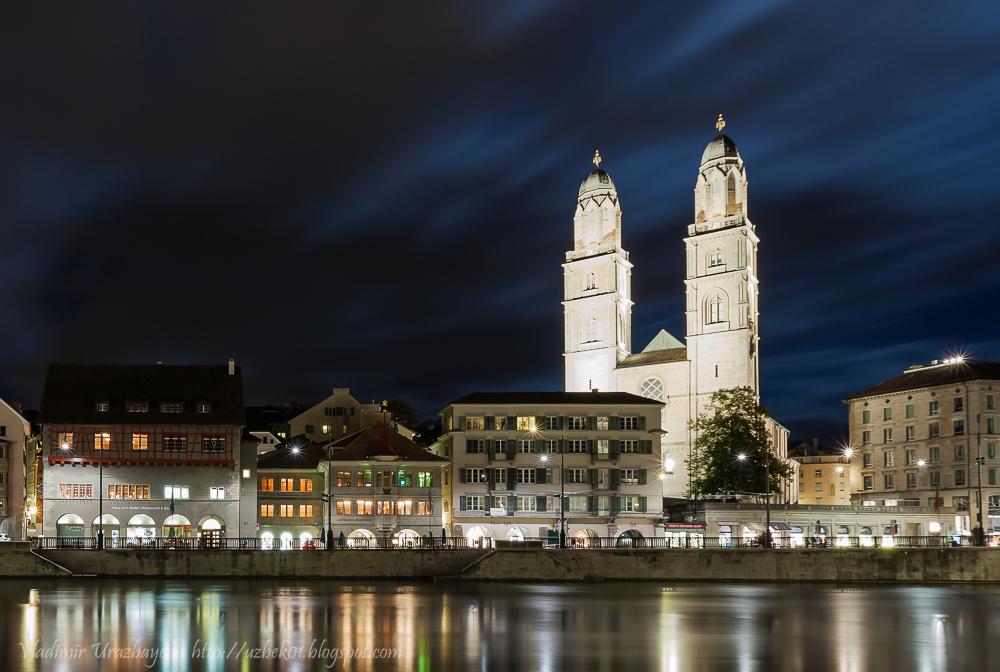 Zürich Grossmünster und Altstadt