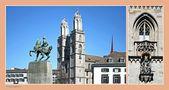 Zürich - Hommage an meine Heimatstadt I von Kyra Kostena