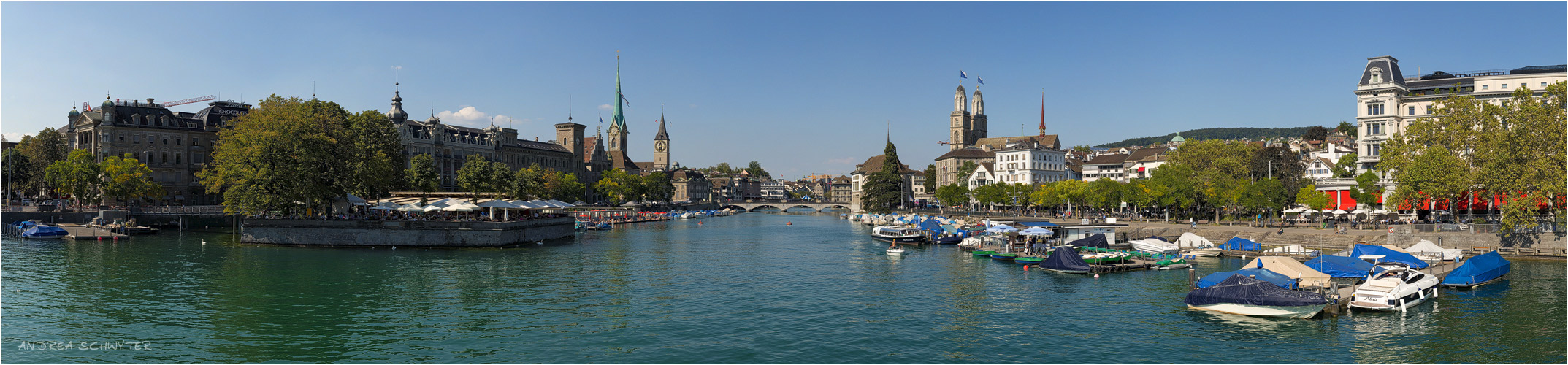 Zürich III - Panorama